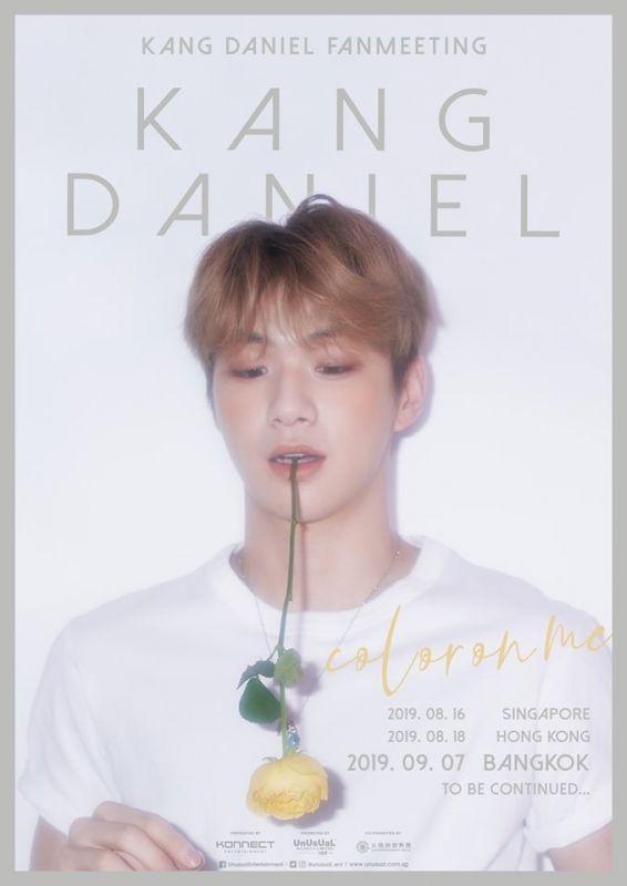 Kang Daniel แฟนมีตติ้ง เดี่ยว kpop KangDanielColorOnMeinBKK