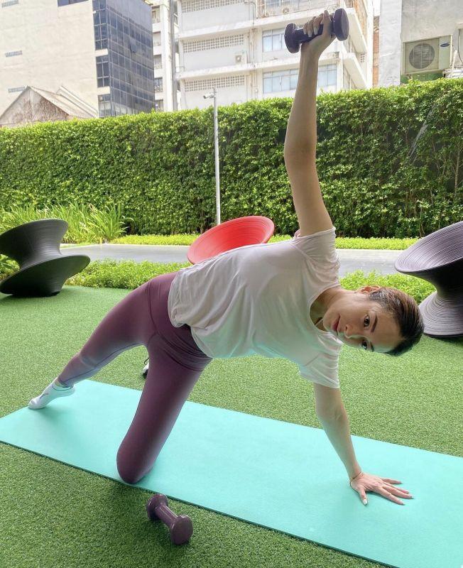 แป้งอรจิรา ออกกำลังกาย