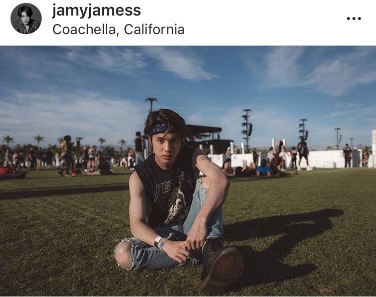 เจมส์ ธีรดนย์ ป่วย ภูมิแพ้ คอนเสิร์ต BLACKPINK