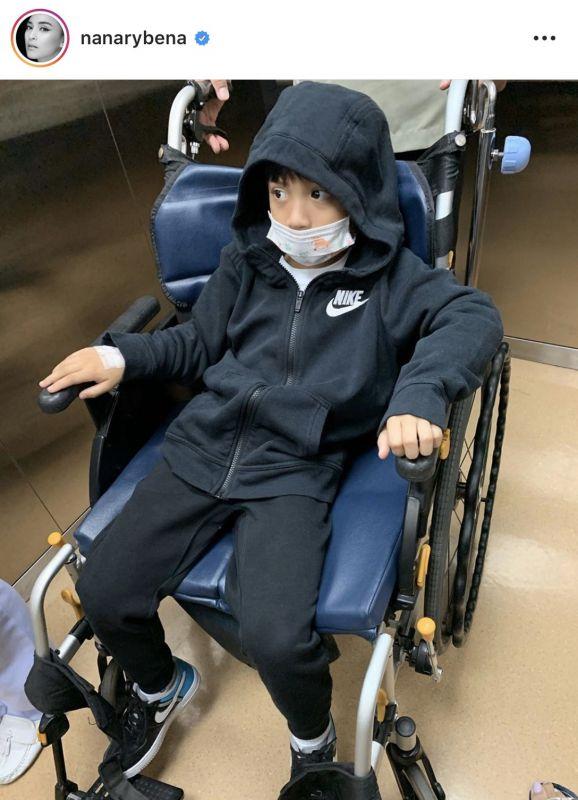 บีน่า บรู๊คลิน ป่วย fluA ไข้หวัดใหญ่