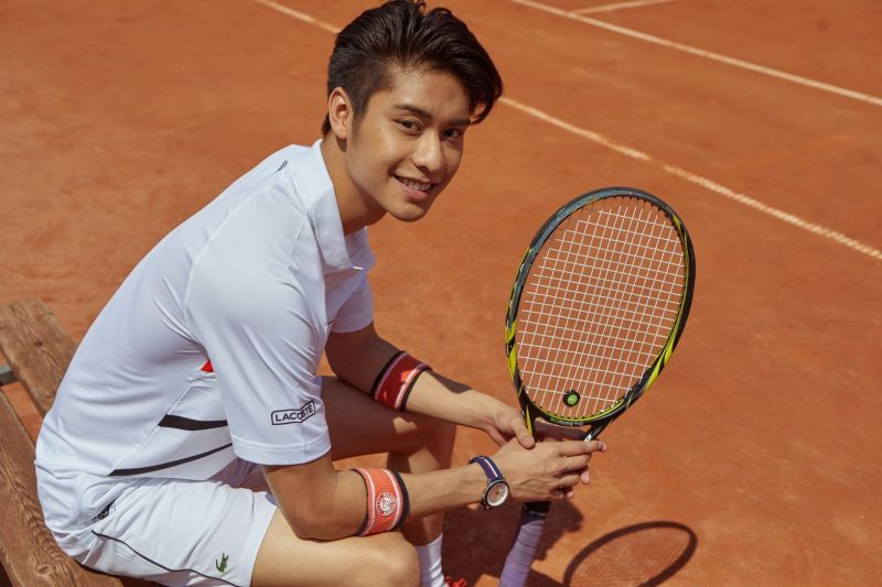 ออกัส วชิรวิชญ์ แข่ง เทนนิส ระดับโลก