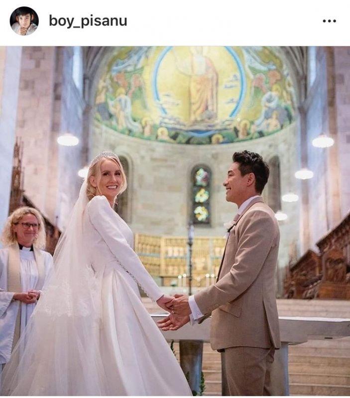 ฮั่น อิสริยะ จียอน ความรัก บอย พิษณุ แต่งงาน