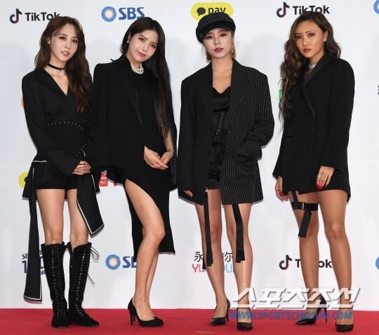 SBS Gayo 2018 redcarpet idol