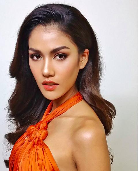 กำลังใจ แนท น้ำตาล  Miss Universe เวทีประกวด ประกวดนางงาม