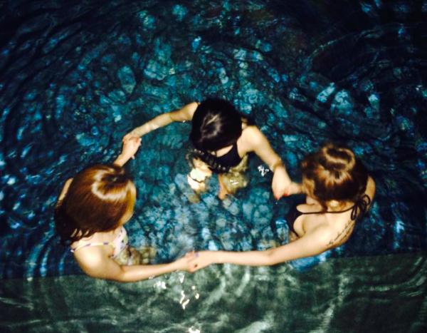 แฟชั่นชุดว่ายน้ำ ชุดว่ายน้ำซัมเมอร์ของ ไอดอลเกาหลี สาวเซ็กซี่ บิกินี่