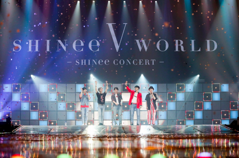 shinee world concert v