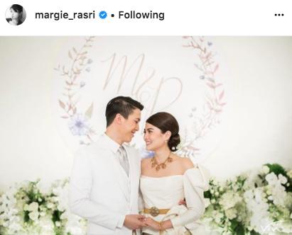 ป๊อก ภัสสรกรณ์ จิราธิวัฒน์ มาร์กี้ ราศรี แต่งงาน ฉลองมงคลสมรส