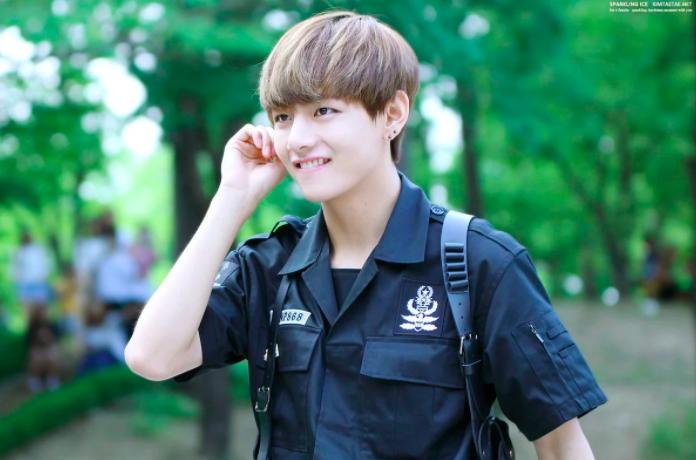 10 ทรงผม V BTS kpop idol