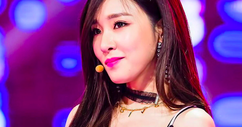 tiffany idol kpop