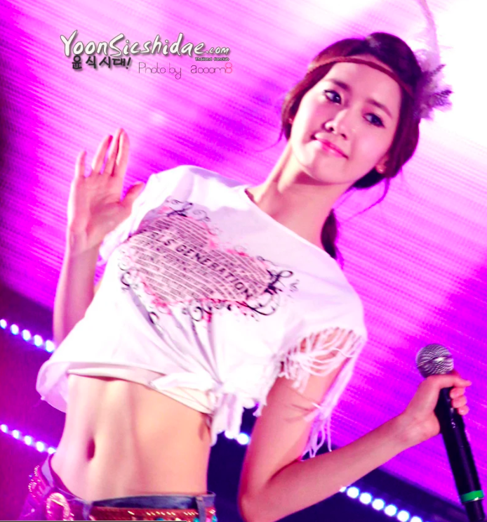 ไอดอล เกาหลี SM หน้าท้อง