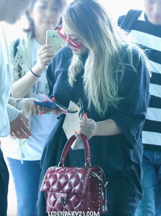 Blackjack CL ไอดอลเกาหลี 2NE1 อ้วน น้ำหนักขึ้น