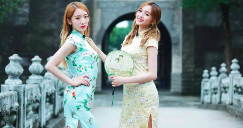 Meiqi and Xuanyi ไอดอล