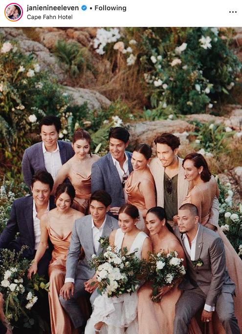 เจนี่ เทียนโพธิ์สุวรรณ์ งานแต่งงาน ความรัก แก๊งนางฟ้า เกาะสมุย เที่ยวทะเล