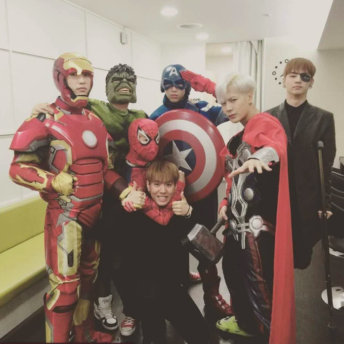 idol_halloween ฮาโลวีน แฟชั่น