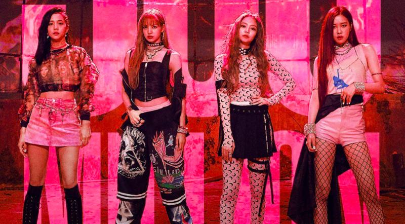 BLACKPINK ยอดวิว ไอดอลเกาหลี เพลงใหม่