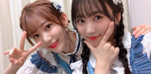 IZONE Miyawaki Sakura Yabuki Nako HKT48