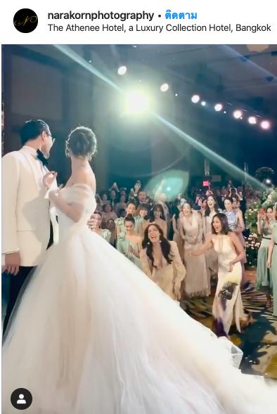 มิว แต่งงาน เซนต์ คิม ดอกไม้งานแต่ง
