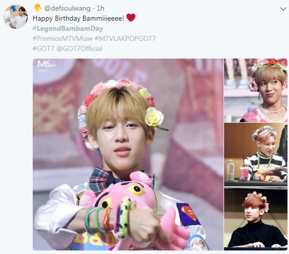 แบมแบม bambam got7 วันเกิด LegendBamBamDay