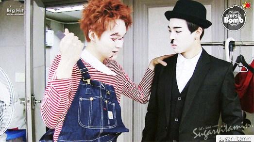 Suga วง BTS ขอมาในลุค Chucky