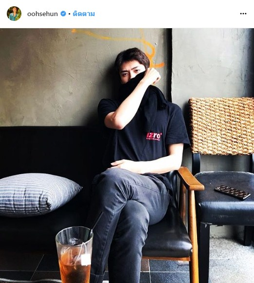 Sehun EXO แฟชั่นLouis Vuitton ญาญ่า อุรัสยา
