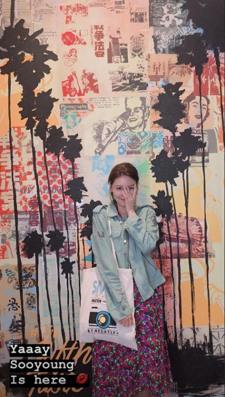 Sooyoung Tiffany LA Girls Generation