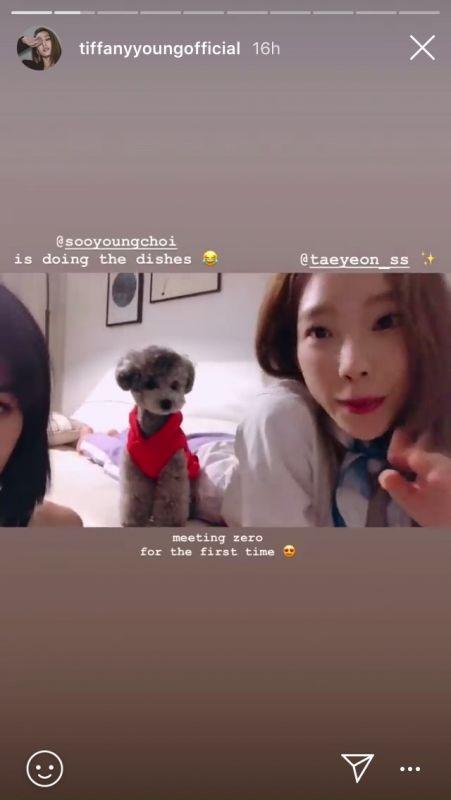 #TaeNy Taeyeon Tiffany รวมตัว