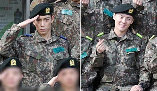 กรมทหาร ไอดอลเกาหลี สิทธิพิเศษ ชาวเน็ตเกาหลี จับผิด  T.O.P
