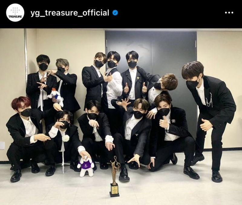 TREASURE YG Entertainment K-POP Boy Band
