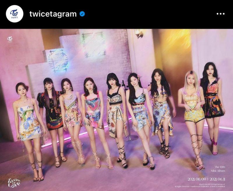 TWICE JYP Entertainment Taste of Love Alcohol Free