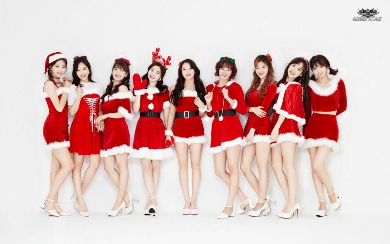 ไอดอล เกาหลี K-Pop ซานต้า ซานตี้ คริสต์มาส