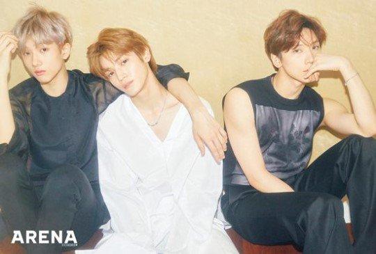 NCT Ten TAEYONG Jisung ถ่ายแบบ นิตยสาร