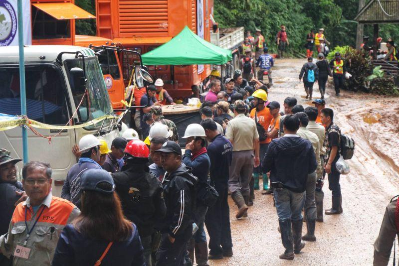 ถ้ำหลวง เจอเด็ก หลง 13 ชีวิต ทีมหมูป่า