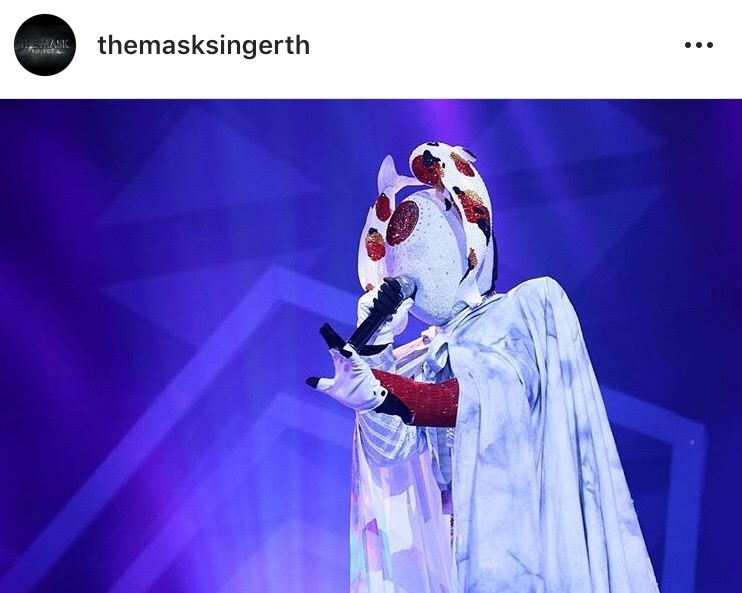 อ๊อฟ ปองศักดิ์ ปลาคาร์ฟ หน้ากาก The Mask Project A