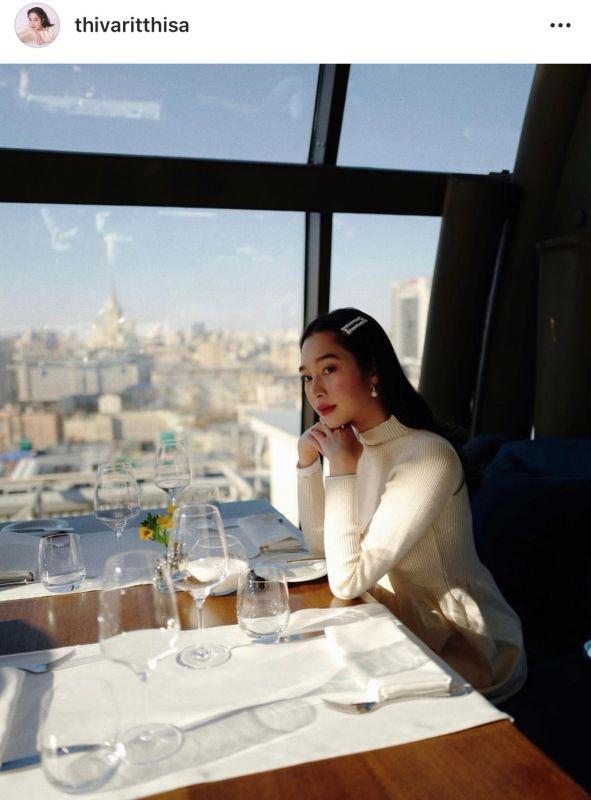ฐิสา สัมพันธ์ ปั้นจั่น เปิดตัว แฟน เที่ยว รัสเซีย ต๊ะ วริษฐ์