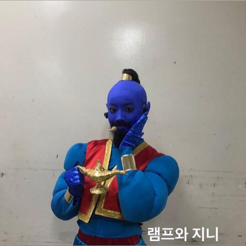 Dahyun TWICE ขอพลิกโฉมเป็นยักษ์ Genie จาก Aladdin