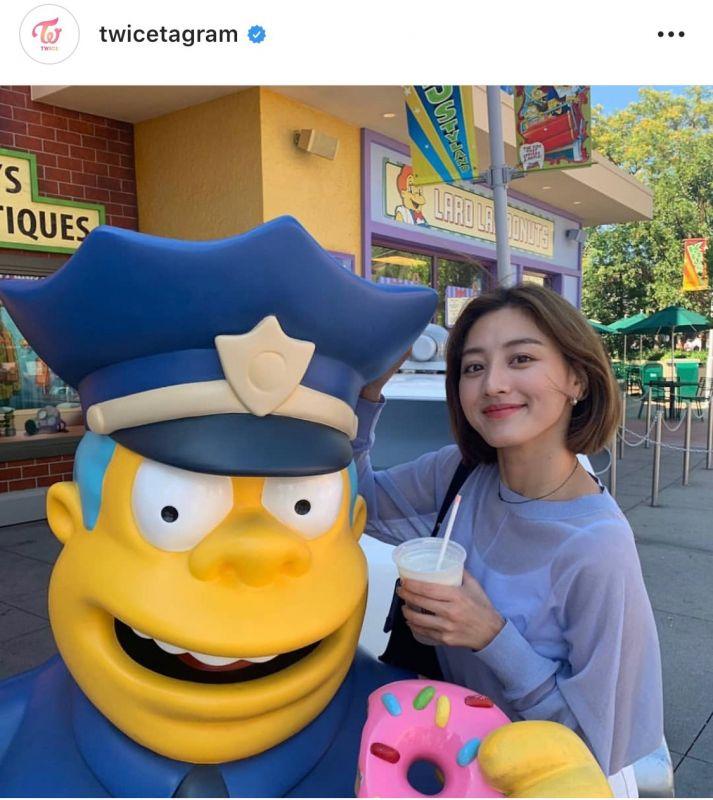 Jihyo Twice JYP Ent ชายปริศนา