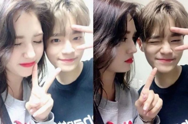 Lee Daehwi วง Wanna One และ Somi