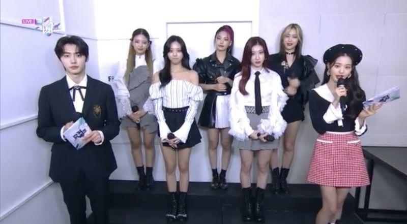จางวอนยอง IZ*ONE K-POP ซองฮุน ENHYPEN  Music Bank