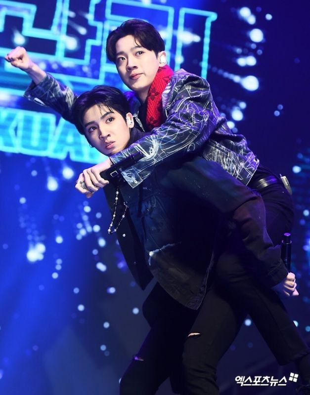 WOOSEOK KUANLIN  NEW_UNIT Cube Entertainment IM A STAR
