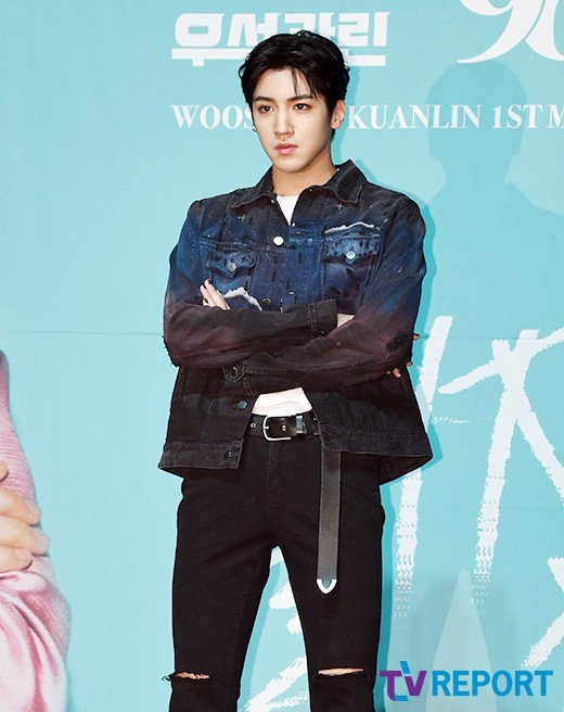WOOSEOK KUANLIN  NEW_UNIT Cube Entertainment IM A STAR