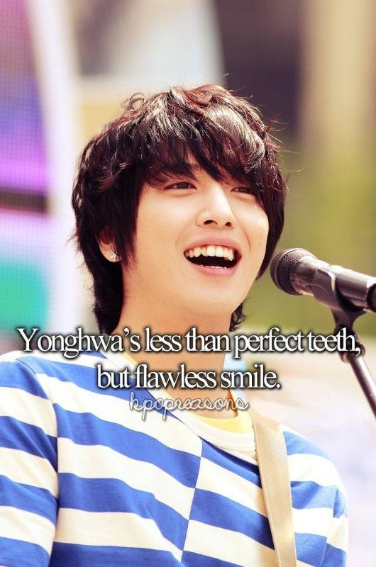 Taeyeon Onew BIGBANG Yonghwa T.O.P ดัดฟัน