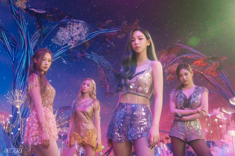 aespa SM Entertainment Creative Artist Agency เกิร์ลกรุ๊ป K-POP