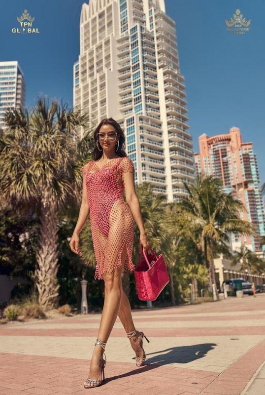 อแมนด้า ออบดัม มิสยูนิเวิร์สไทยแลนด์ Miss Universe 2020