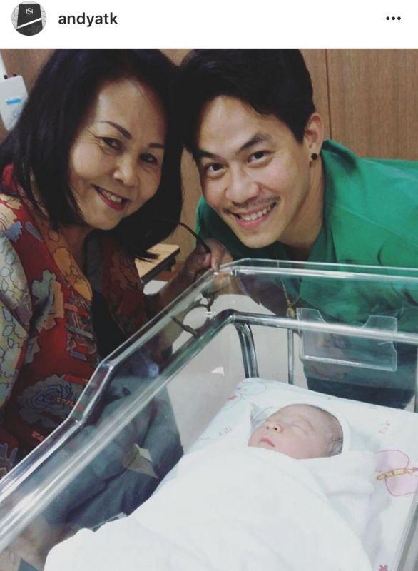 แอนดี้ พ่อลูก น้องอองเดรย์ เกิด ลูกชาย
