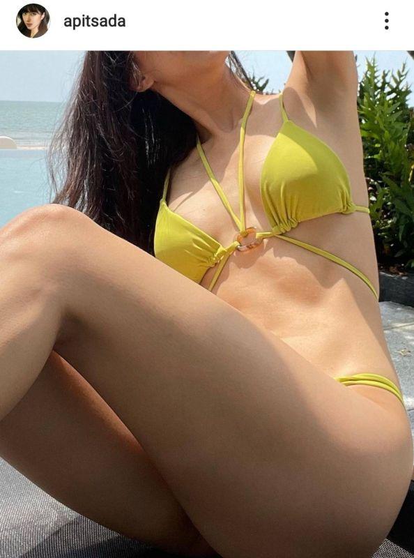 ไอซ์ อภิษฎา เซ็กซี่ ชุดว่ายน้ำ