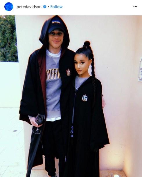 Ariana Grande หมั้น Pete Davidson