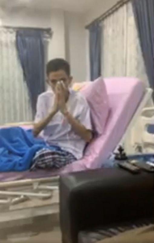 โรเบิร์ต สายควัน กำลังใจ มะเร็งปอด สุขภาพ ป่วย