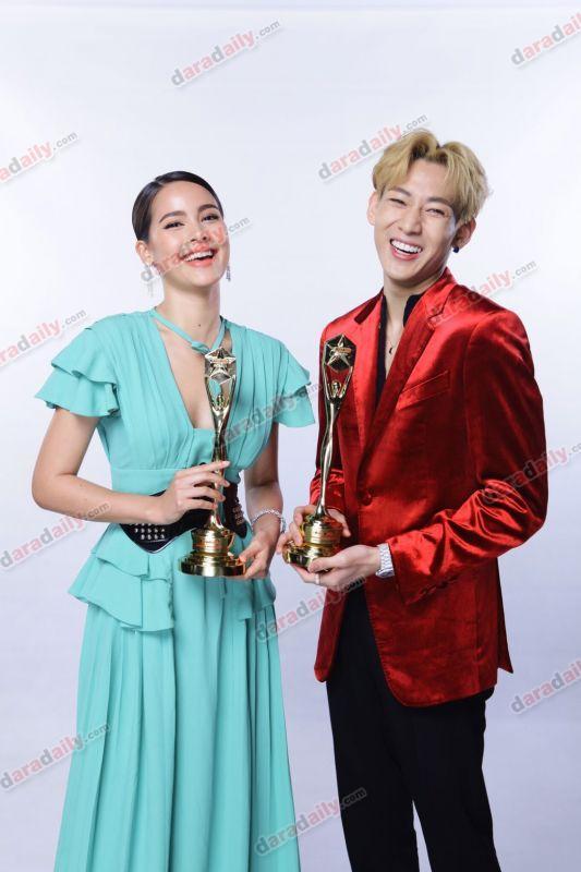 แบมแบม แฟชั่น daradaily Awards 8