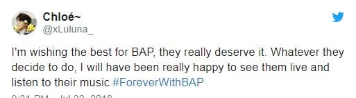 BAP ยุบวง บอยแบนด์ kpop