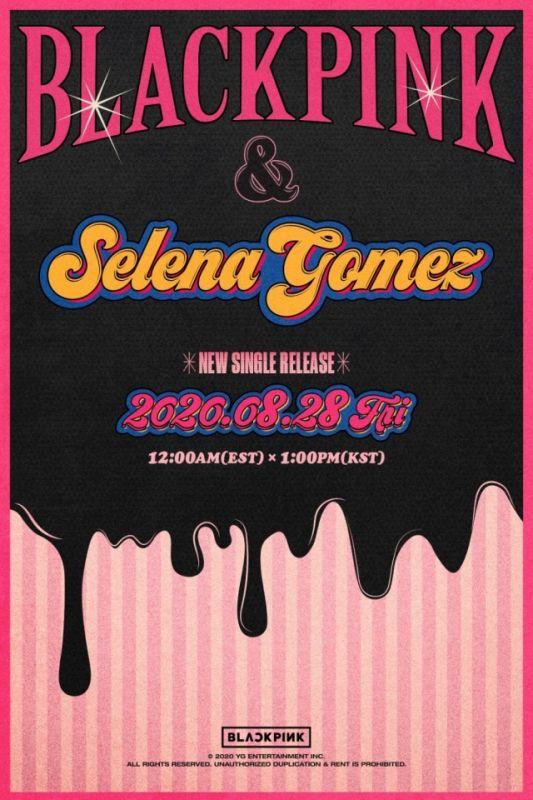 BLACKPINK Selena Gomez